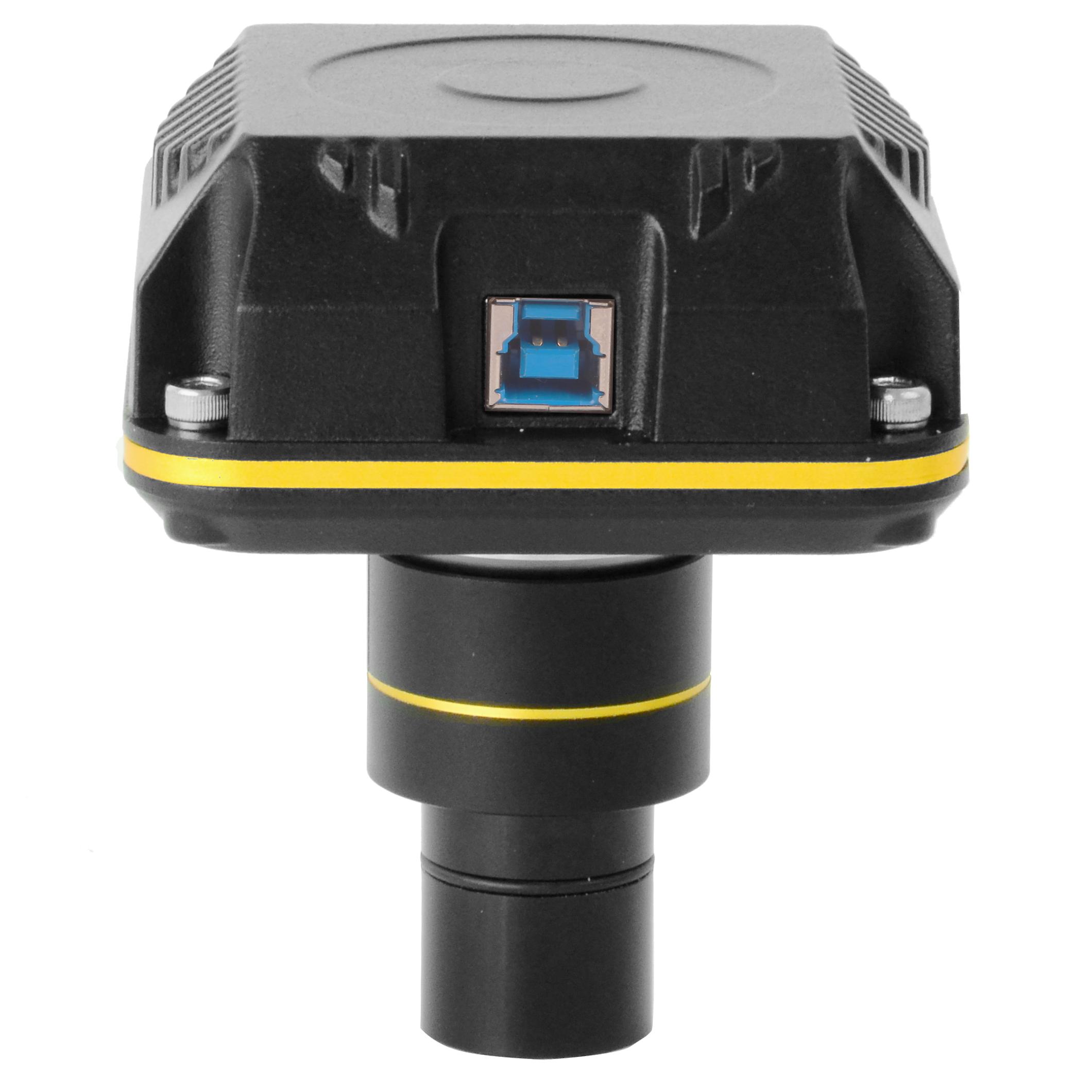 CÂMERA DIGITAL - SENSOR CMOS USB 3.0 - MEMÓRIA ON-BOARD - PARA METALOGRAFIA